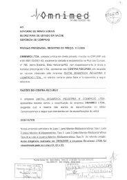 OMNIMED - Secretaria de Estado de Saúde de Minas Gerais