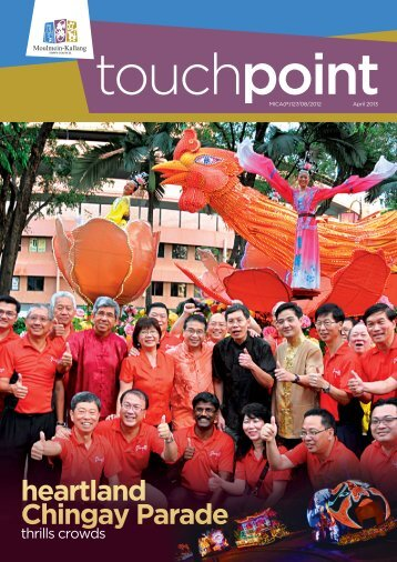 to view our latest newsletter issue - Moulmein-Kallang Town Council