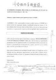 Omnimed Ltda - Secretaria de Estado de Saúde de Minas Gerais