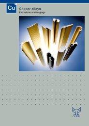 Cu Copper alloys - Otto Fuchs KG