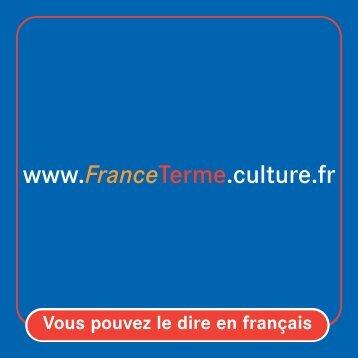 FranceTerme - Délégation générale à la langue française et aux ...
