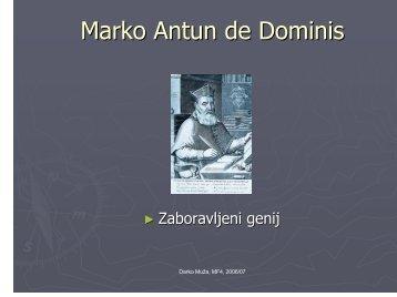 Marko Antun de Dominis (2006)