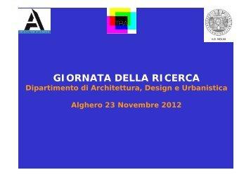 TRA - Facoltà di Architettura