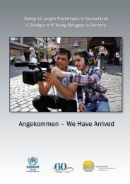 Angekommen – We Have Arrived - unhcr