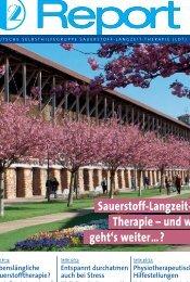 O2-Report 1/ 2010 - Deutsche Selbsthilfegruppe für Sauerstoff ...