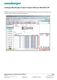 Online Catalogue and CAD Export with DAKO F