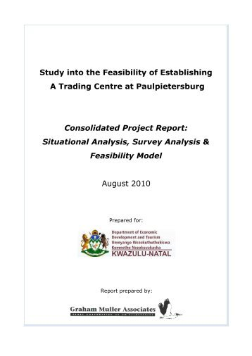 Study into the Feasibility of Establishing A Trading Centre at ...