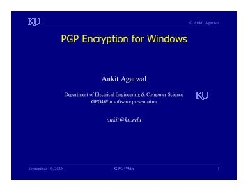 PGP Encryption for Windows