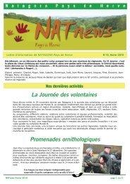 La Journée des volontaires Promenades ... - natagora.org