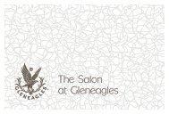 The Salon at Gleneagles
