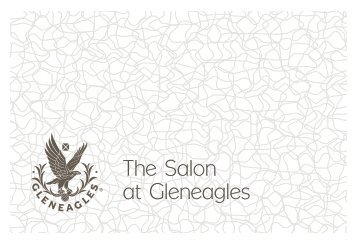 The Salon at Gleneagles