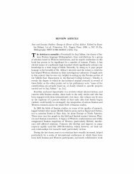 REVIEW ARTICLE Iran and Iranian Studies - Middle East Librarians ...