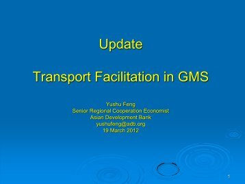 Customs Transit in the GMS : Guaranteeing/Issuing ... - ameicc