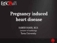 Pregnancy induced heart disease - cardioegypt2011