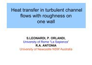 Heat transfer in turbulent channel flows with roughness on one wall