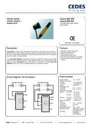 Description Circuit diagram / I/O Connection ... - Star Automation