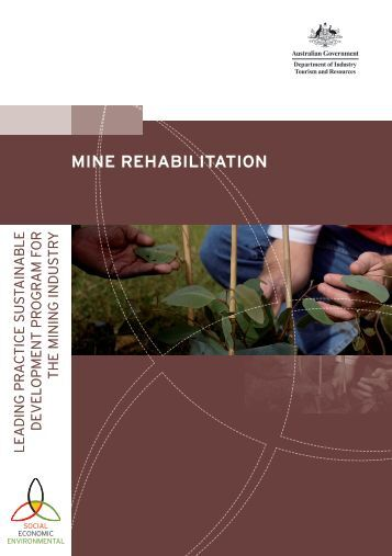 Mine Rehabilitation (10 Nov 2006) - Northern Territory Government
