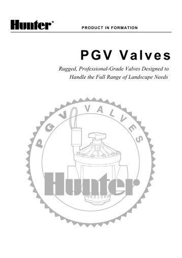 hunter pgv 100g valve manual