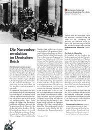 Die November- revolution im Deutschen Reich 8