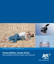 Starke Wellen. Starke Klicks. - TD audio promotion
