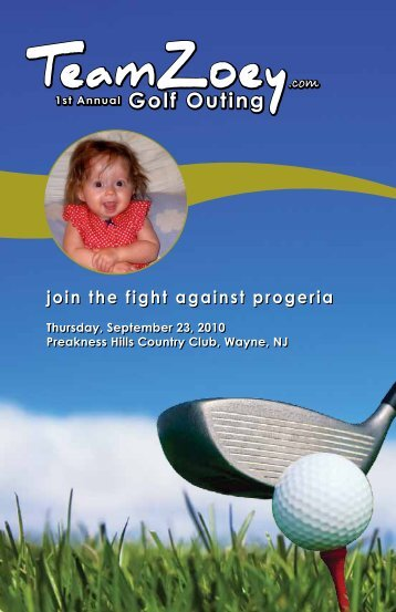 Click here - Progeria Research Foundation