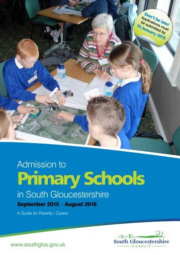 Primary Schools - South Gloucestershire Council