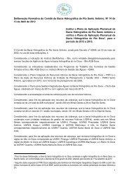 deliberação normativa do comitê da bacia hidrográfica ... - CBH Doce