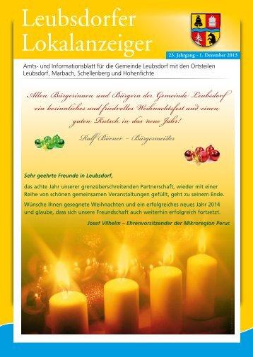 Dezember - Gemeinde Leubsdorf