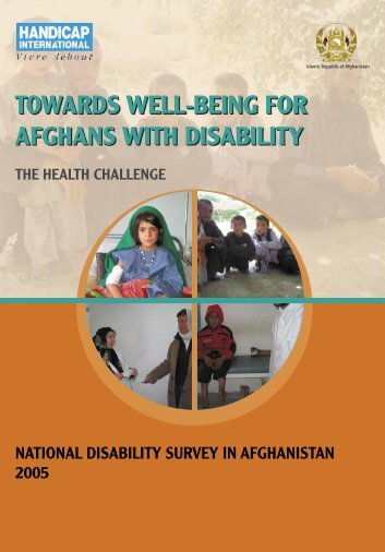 Towards well-being for Afghans with disabilities - Handicap ...