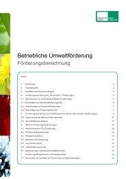 Förderungsberechnung - Kommunalkredit Public Consulting