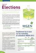 Taxation des mutuelles - MGEN - Page 2