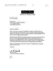 Applicant Submittal - Santa Barbara County Planning and ...