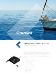 GSM desk phone DPH311 Bluetooth - Teltonika