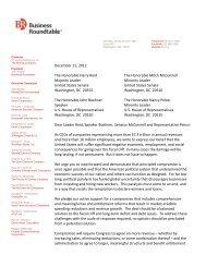 December 11, 2012 The Honorable Harry Reid Majority Leader ...