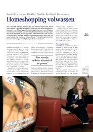 Homeshopping volwassen - Twentevisie