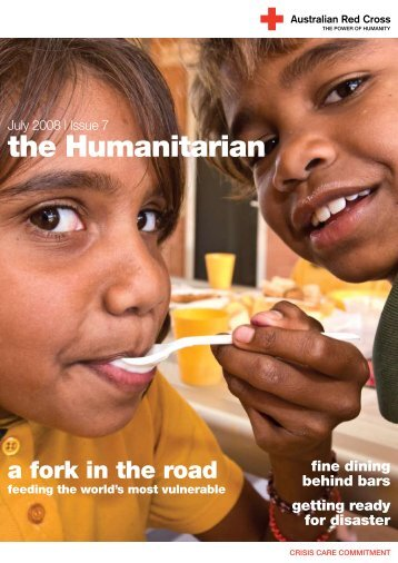 Issue 7, July 2008 - Australian Red Cross