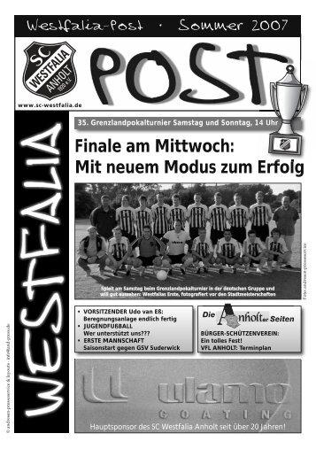 Finale am Mittwoch: Mit neuem Modus  zum Erfolg - beim SC ...