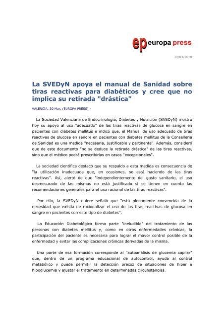folleto para pacientes con diabetes tipo 1