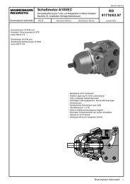 RD 91710/03.97 Schaltmotor A10VEC - Group VH A/S