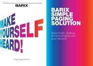 Flyer - Barix