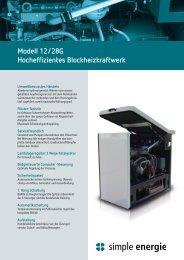 Datenblatt Modell 12/28G als PDF herunterladen - Simple Energie