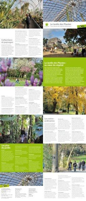 Guide du Jardin des plantes - Nantes