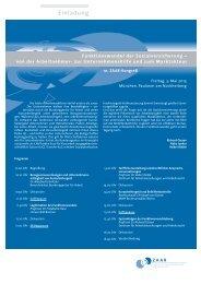 10. ZAAR-Kongreß Einladung - ZAAR - Zentrum für ...