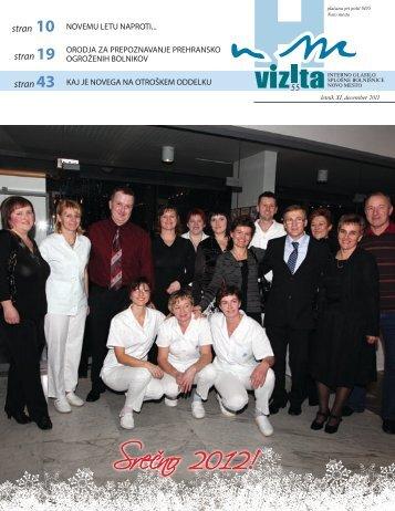 Glasilo Vizita - št. 55 - Splošna  bolnišnica Novo mesto