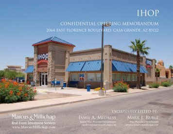 IHOP Casa Grande - Marketing Package - Property Line