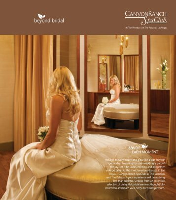 Bridal Brochure - Canyon Ranch