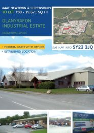 Download a pdf brochure - Spencer Commercial Property