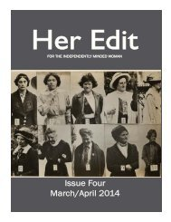 Her Edit Issue Four_MarchApril2014
