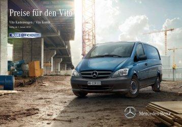 Preisliste Vito - Autostern