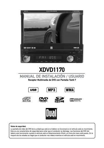 XDVD1170 - Dual Electronics